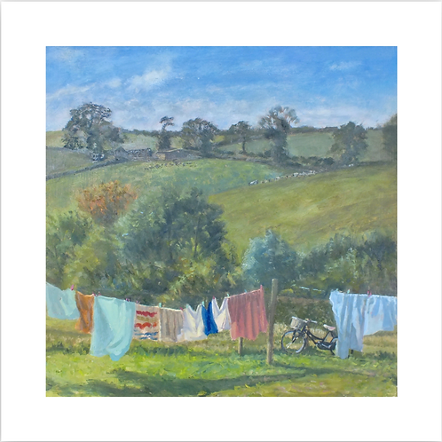 Giclee Print of Wash Cycle