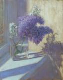 Purple Lilacs And Shadows