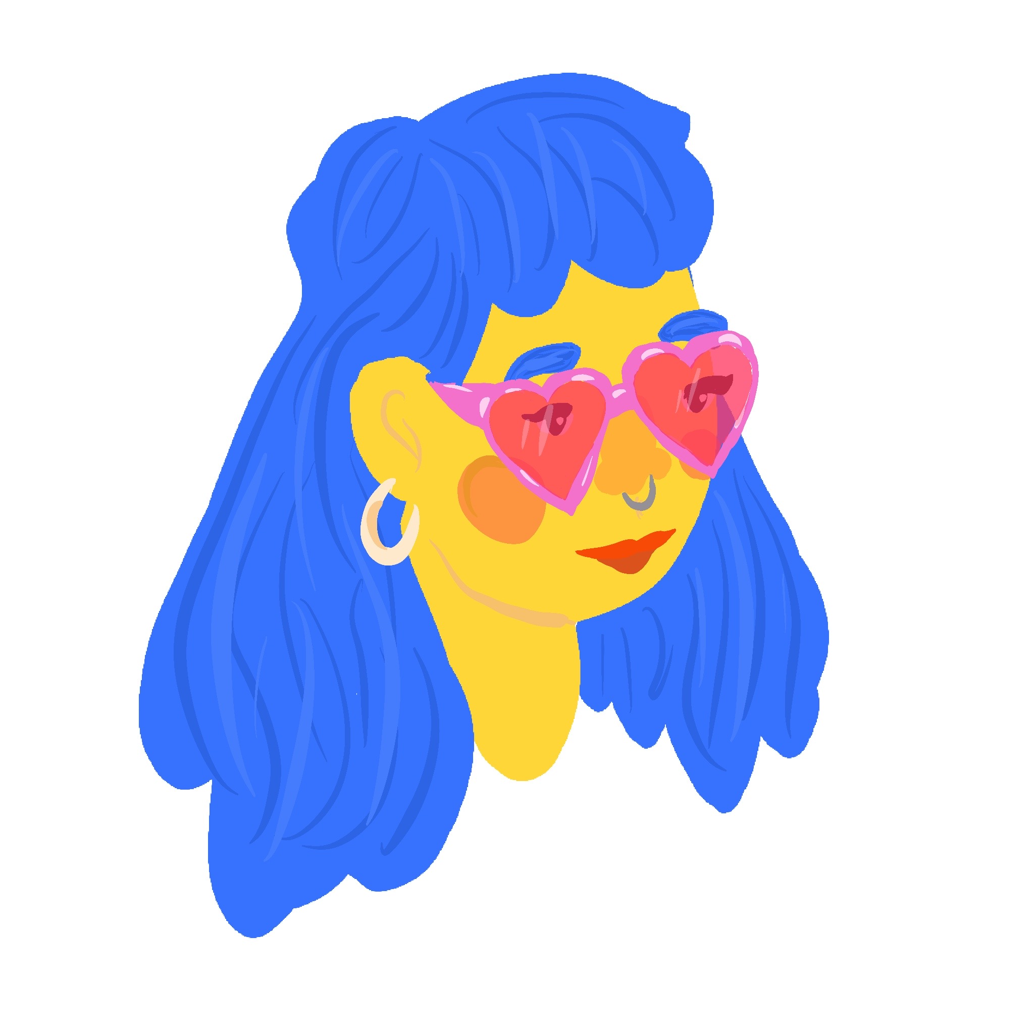 Heartglassesgirl
