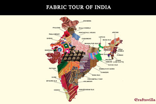 Fabric map of India