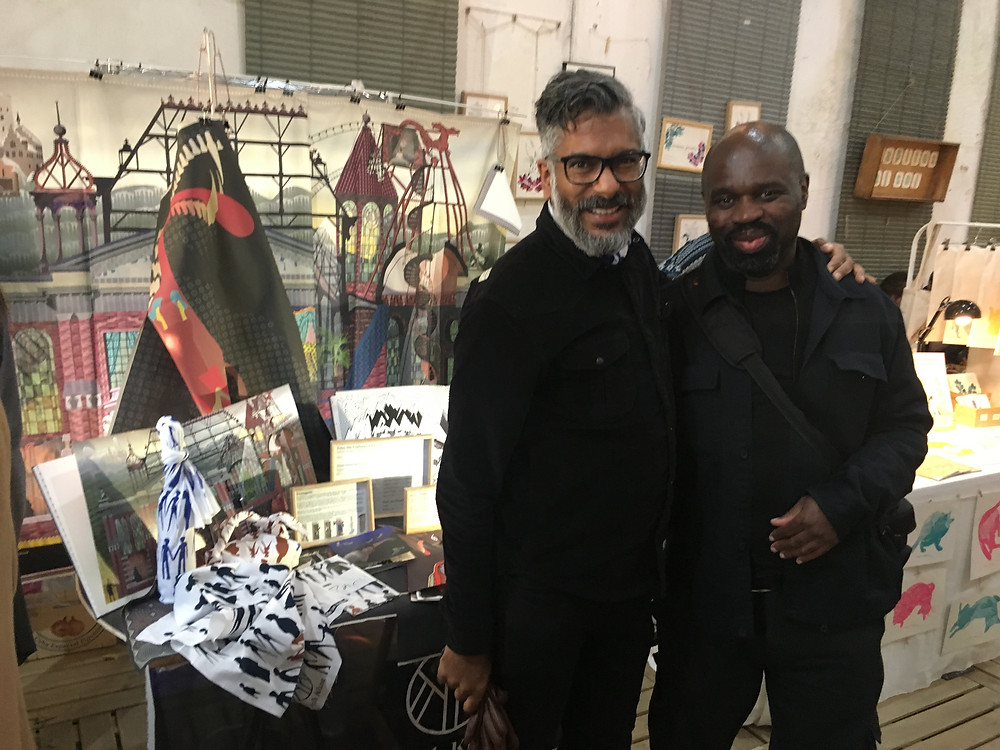 keith piper artist and keith khan artist together