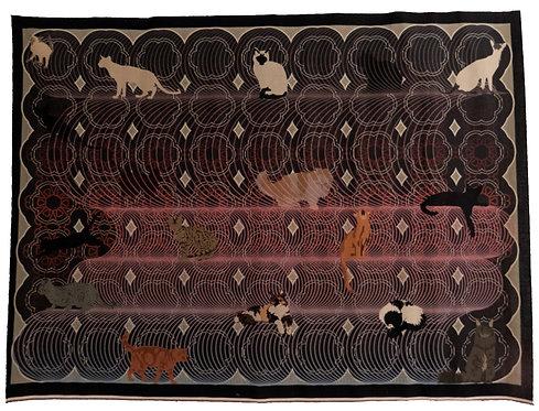 Gatos I. Story cloth