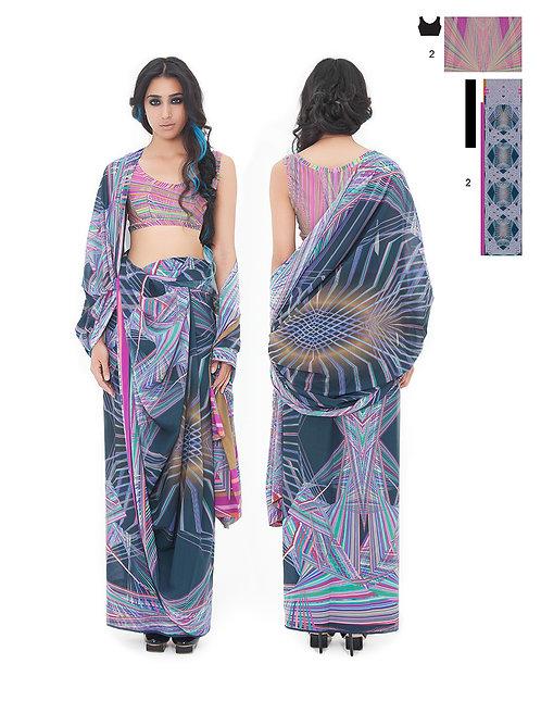 Keith Khan digital sarees