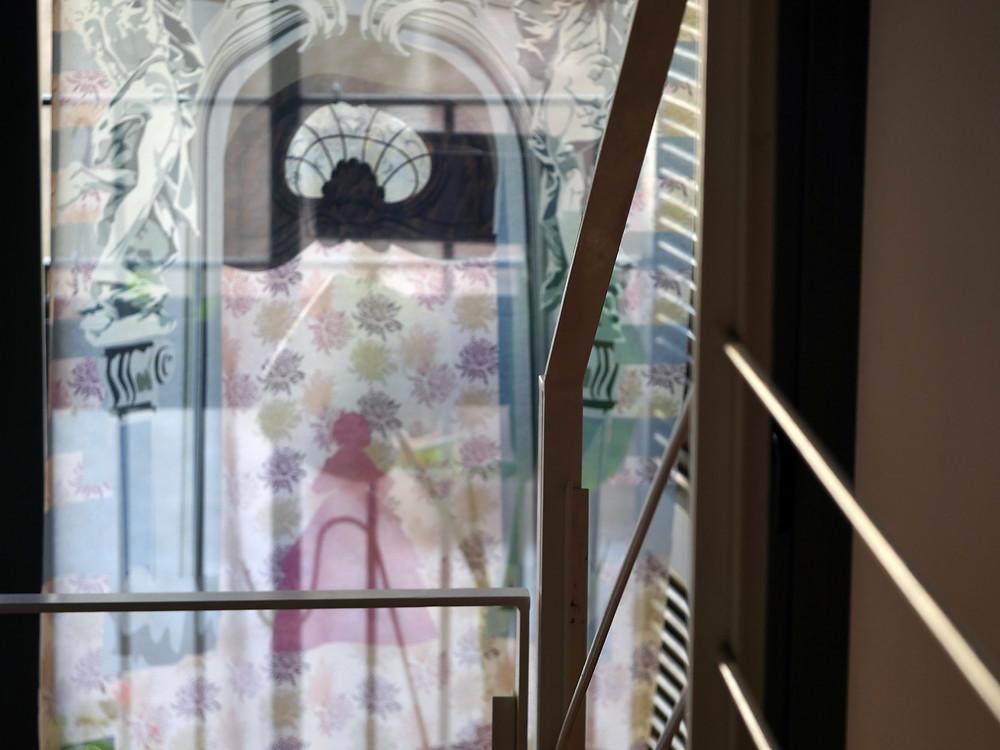 Cinderella see through curtain