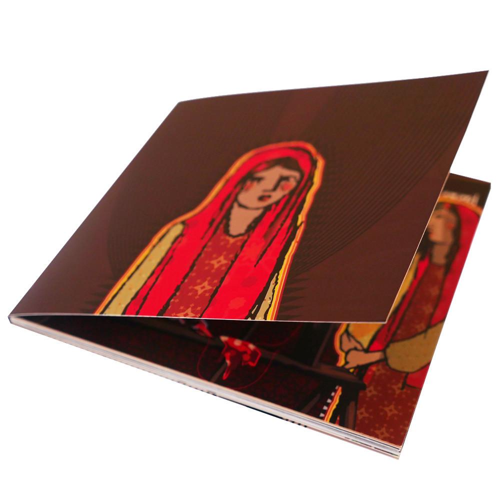 Portada Caperucita Roja novela gráfica
