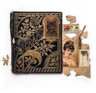 Scrapbooking is the art of arranging and preserving memories in the form notebooks. Here we can see