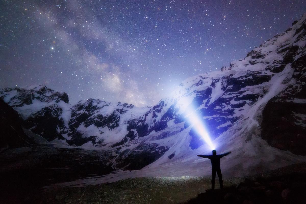 Звёзды над Северным массивом