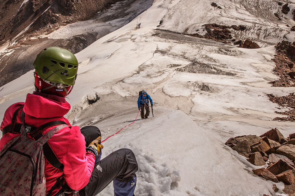 Восхождение на вершину 4231 м