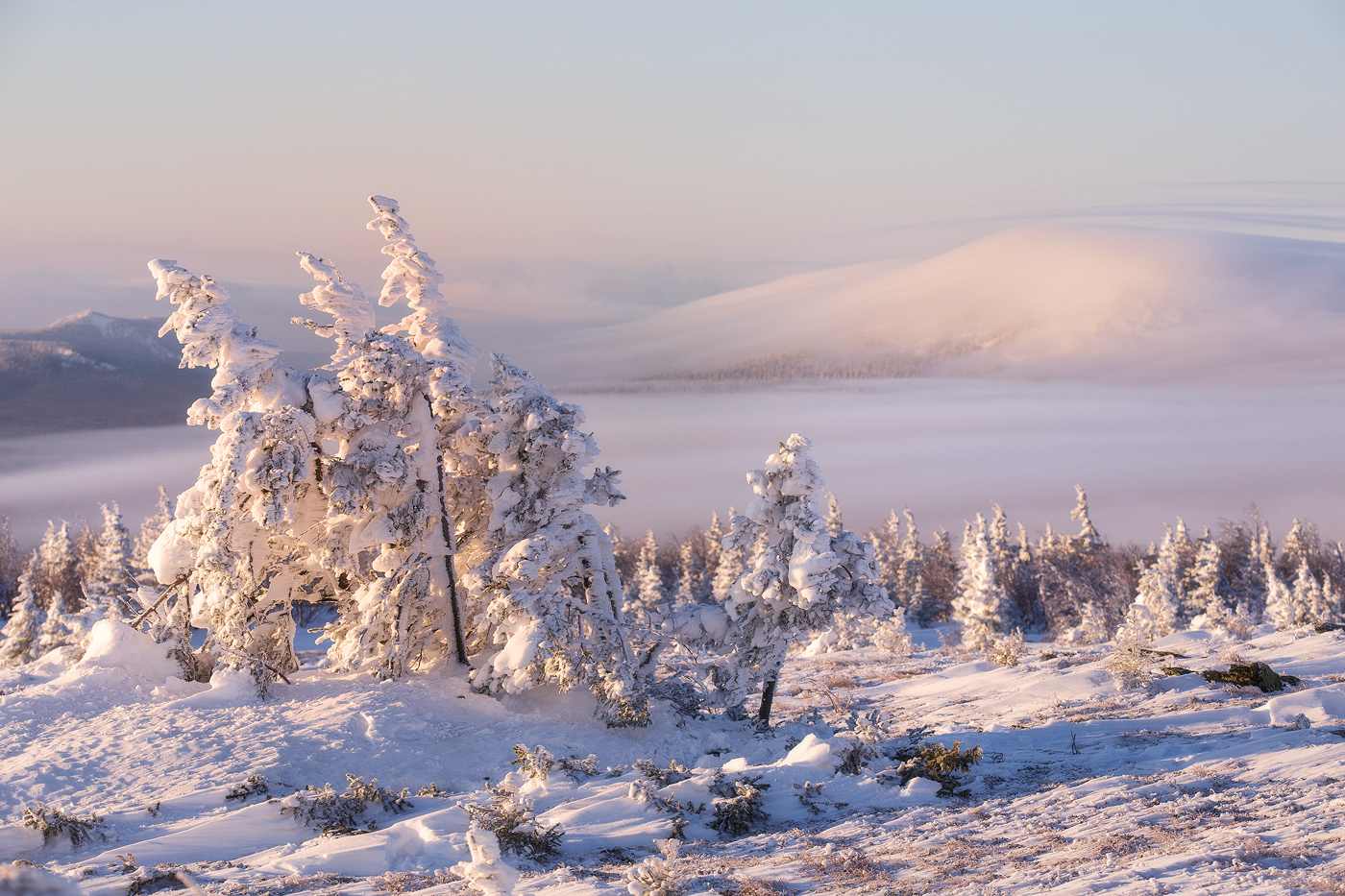 Урал зимой
