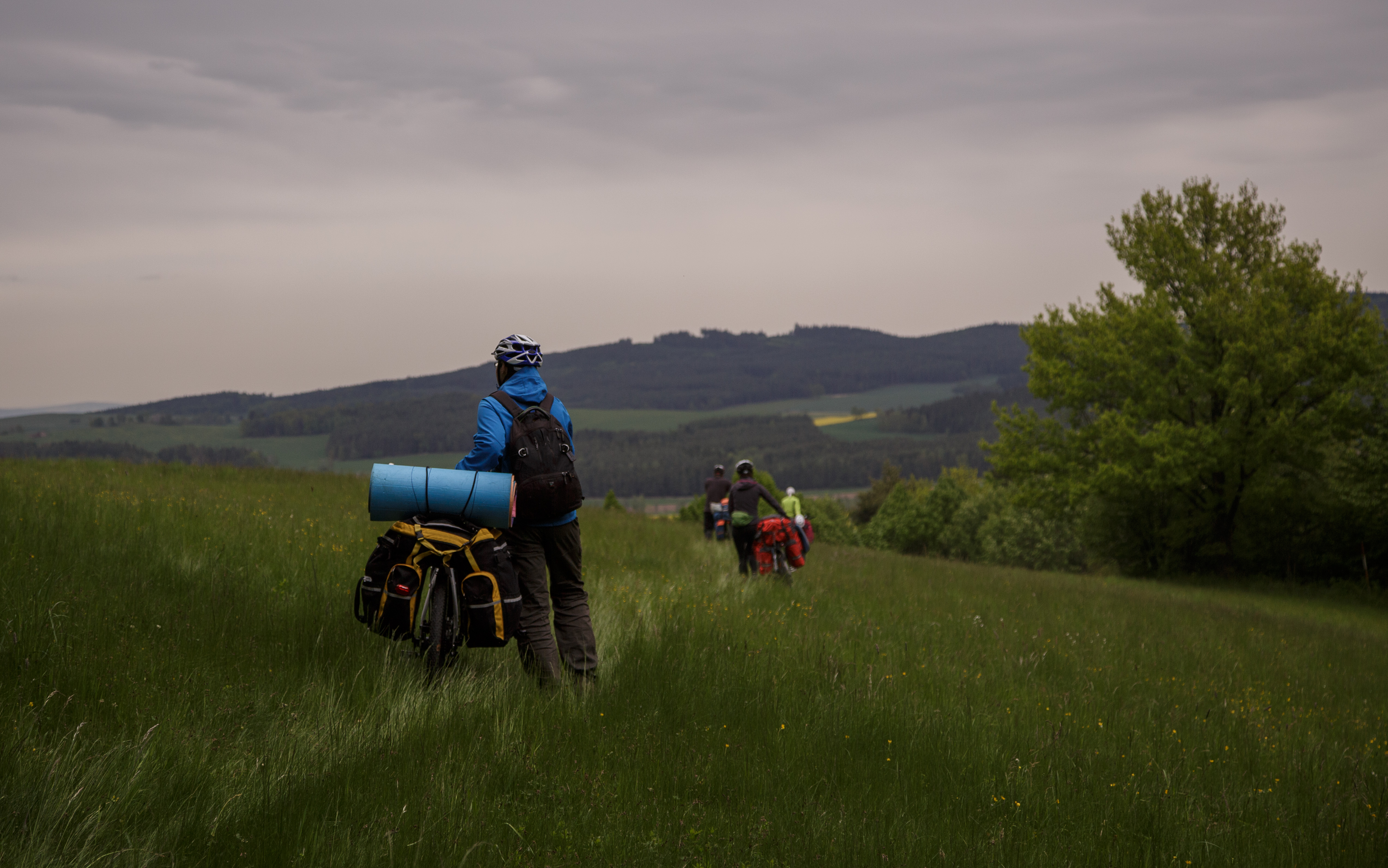 Чехия, велопоход 2кс