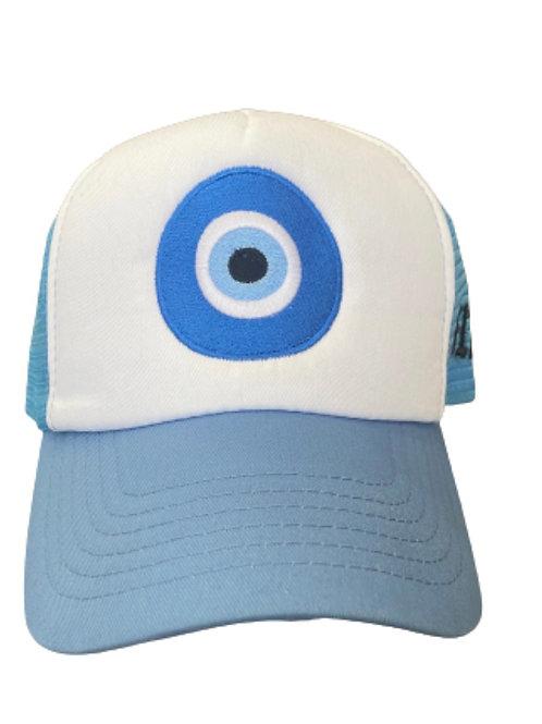 """Baby Blue """"Envy Me"""" Trucker Hat"""