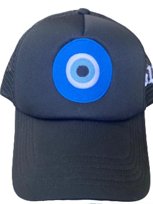 """Black """"Envy Me"""" Trucker Hat"""
