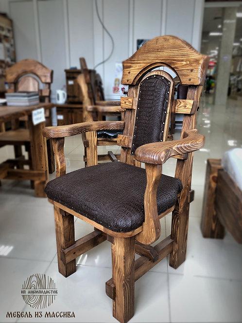 Кресло с экокожей