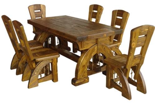 Комплект мебели стол и 6 стульев