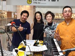 コミュニティFMで生ライブ
