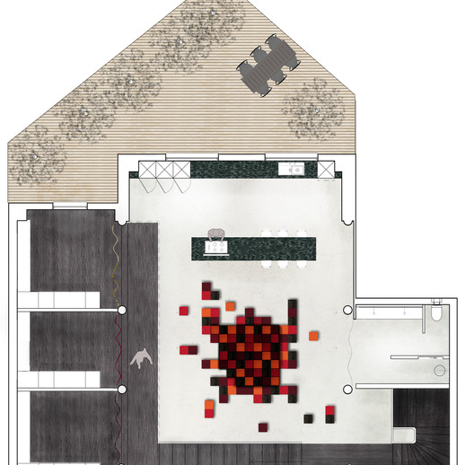 Morphose // Plan Mezzanine