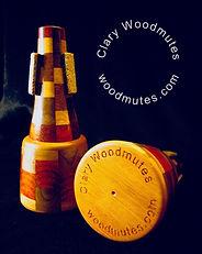 Wood Trumpet Mute, Clary Mute