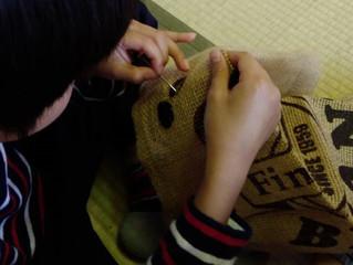 かんたん手縫い練習