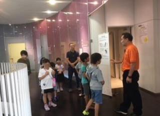 四季防災館見学・避難訓練