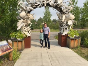 Antler Arch in Downtown Fairbanks