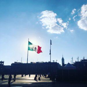 Mexico City's Central Plaza