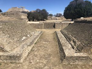 Ball game court at Monte Alban