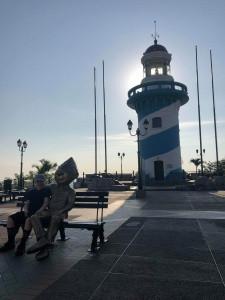 Guayaquil lighthouse Finn