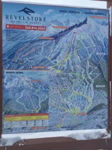 Revelstoke's map