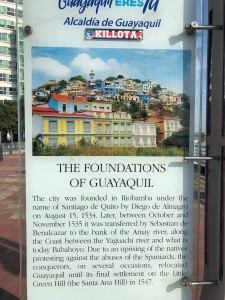 The Foundations of Guayaquil