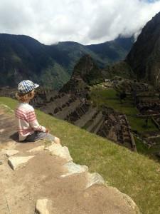 Child, Machu Picchu