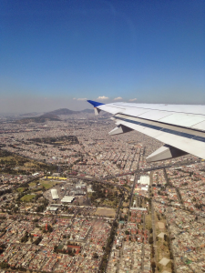 Mexico City from the Air The city is running out of water!