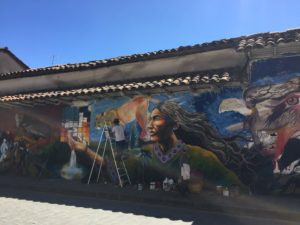 Public art in beautiful Cuenca