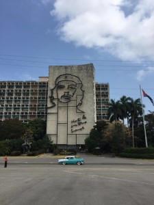 Che Guevara, in Revolution Square