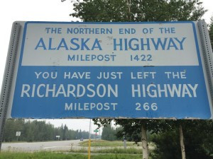 Referred to as 'the Longest Run' the Alaska highway winds from British Colombia, through Yukon and into the heart of Alaska