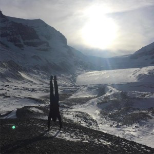 Handstand, Columbia Icefields