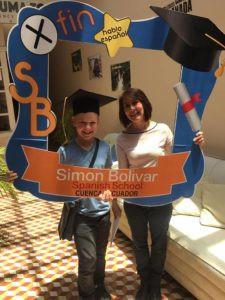 Finn graduating!