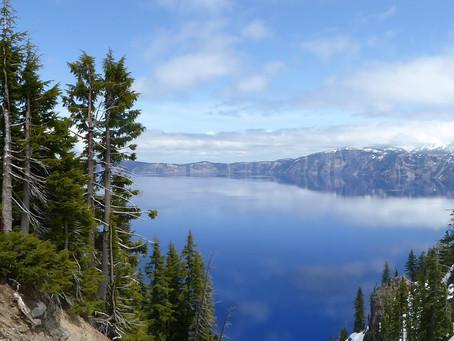 Deep Blue: Oregon's Crater Lake
