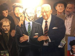 political art Belfast pub