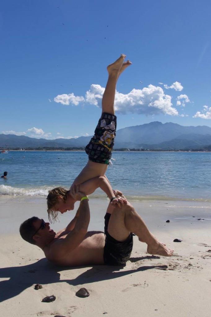 Mexico, handstand, aerobics