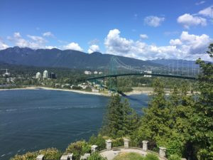 Vancouver's , Lion's Gate Bridge, as seen from Prospect Point, Stanley Park