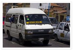 Batman gets me home – Vuelvo con Batman in Cusco