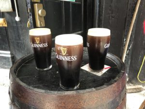 the good stuff, Belfast Guinness at the confession box