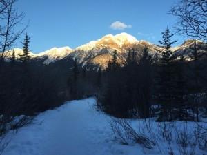 Jasper, Pyramid Lake, Winter