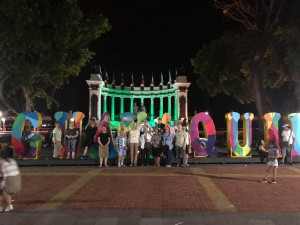 Group in Guayaquil