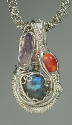 Three-Stone Pendant 1