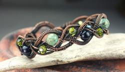 Braided with Beads Bracelet