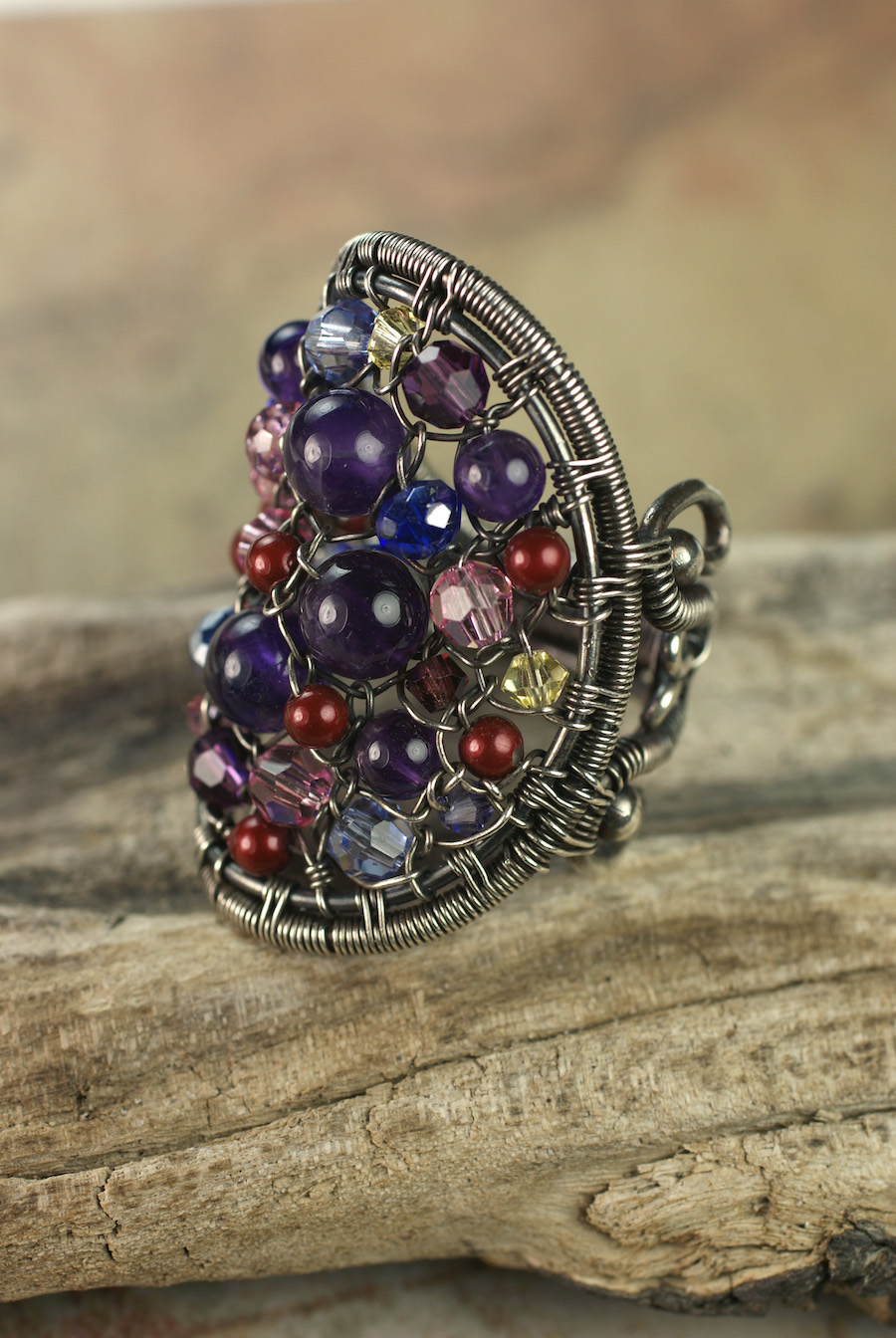 Bead Tapestry Ring
