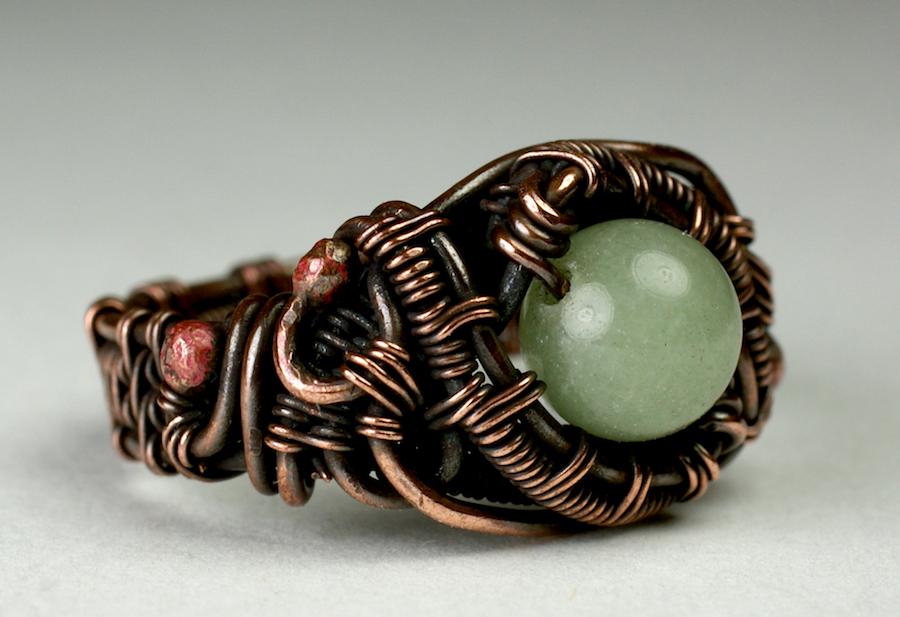 Bead Ring Aventurine
