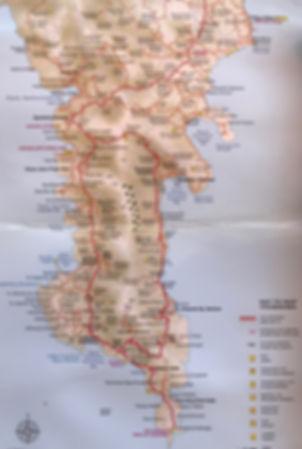 Inner Deep Mani Map