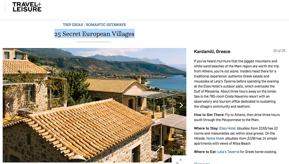 Kardamili 1 out of 25 Secret European Villages